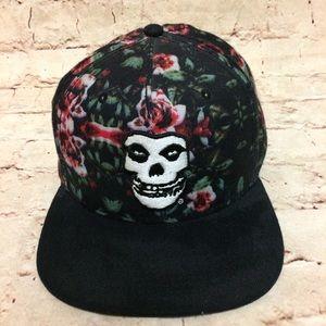 Misfit Floral Snapback Hat